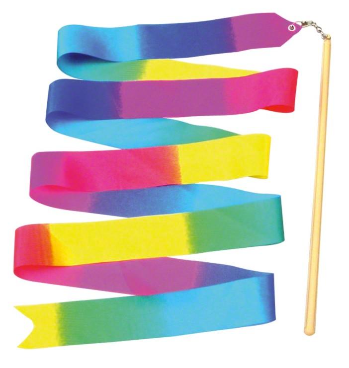 Bunte Gymnastikbänder für Mädchen
