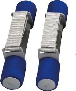 Aerobic-halter,  0,5 kg, grijs-blauw