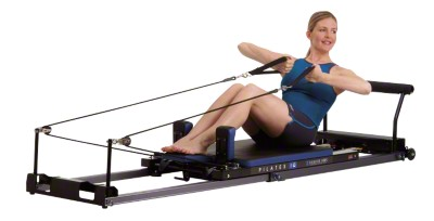 Pilates IQ-Reformer, Horizontale Räder