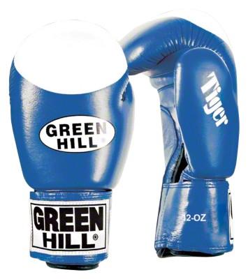 Green Hill® Boxhandschuhe ''''Tiger'''', 12 oz., Blau