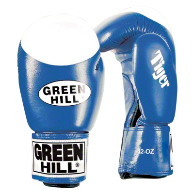 Green Hill® Boxhandschuhe ''''Tiger'''', 12 oz., Blau