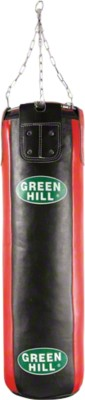 Green Hill® Leder-Boxsack, 100x35 cm, 27 kg