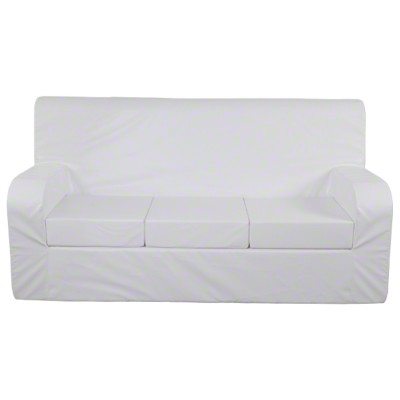 Sport-Thieme® Verwandlungs-Sofa, 10 cm Sitzkissen, Lehne links, 2er Sofa