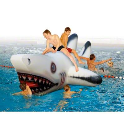 Wasserspiel-Objekt ''''Weißer Hai''''