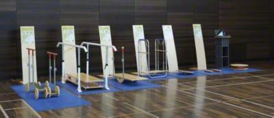 Koordinationsparcours ''''Therapie'''', Gerätesatz ohne Stationstafeln