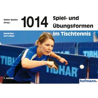 Buch ''''1014 Spiel- und Übungsformen im Tischtennis''''