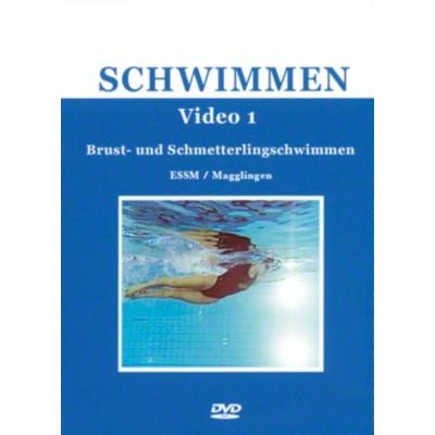 DVDs Schwimmsport-Serie, Brust- u. Schmetterlingsschw.