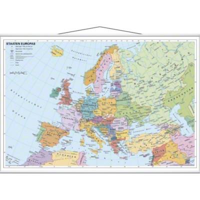 Europakarte - Staaten Europas