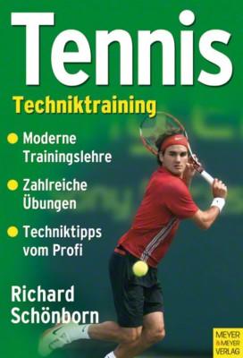 Buch ''''Tennis - Techniktraining''''