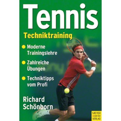 Buch ''''Tennis - Techniktraining''''