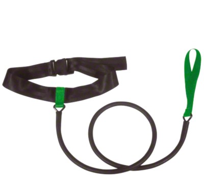 StrechCordz® Aqua-Gym Short-Belt, Rot, Zugstärke 5,4-14,1 kg