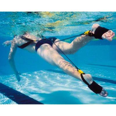 StrechCordz® Kick Trainer, Gelb (Zugstärke 2,2-6,3 kg)