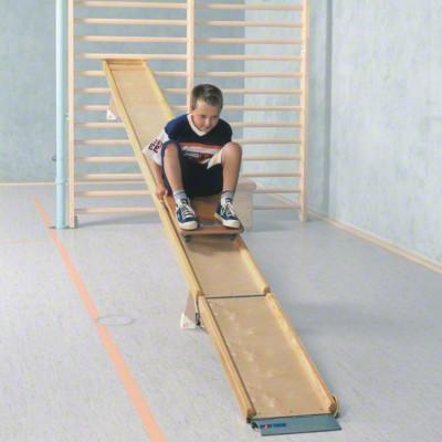 Sport-Thieme® Rollbrettbahn Flizzer®, Für Turnbank 4 m