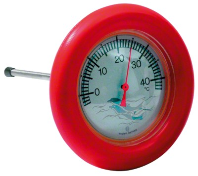 Pool-Thermometer rund