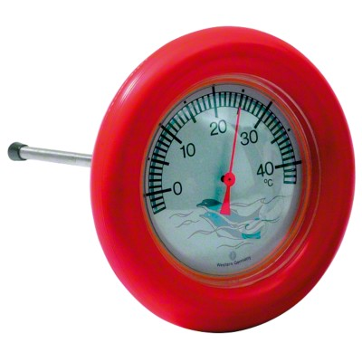 Pool-Thermometer rund